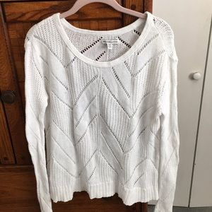 American Eagle White Longsleeve Top